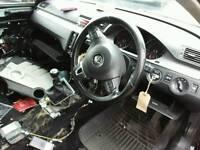 2010 VW PASSAT B6 HIGHLINE 2.0TDI BLACK 3 SPOKE LEATHER STEERING WHEEL with AIR BAG *FREE POSTAGE*