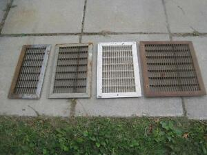 FLOOR OR WALL GRATES-GRILLS