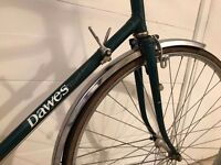 Dawes lightweight touring bicycle - fully working, rides really well - tall frame 25 inches