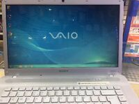 Sony Vaio VGN iNTEL Dual Core 2 / 4 GB RAM / 300 GB HDD / WINDOWS 7/1 YEAR WARRANTY / VISIT MY SHOP.