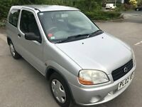 Superb 2002 Suzuki Ignis 1.3 3 Dr Hatchback 90000 Miles November MOT HPI Clear Ideal First Car