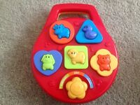 ELC First Shape Sorter Plays tunes and makes animal noises. Excellent Condition