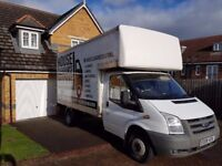 HOUSE CLEARANCES & REMOVALS - LARGE LUTON VAN & TAIL LIFT - 5* MAN WITH A VAN - FRIENDLY & RELIABLE