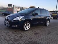2010│Peugeot 5008 2.0 HDi FAP Exclusive 5dr│1 FORMER KEEPER│FULL SERVICE HISTORY│2 KEYS│HPI CLEAR