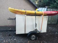 Trailer. Ideal for camping.