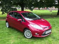 2009 FORD FIESTA TITANIUM RED 3 DOOR HATCHBACK**LOW MILEAGE*3 MONTHS WARRANTY**