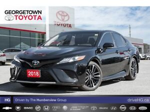 2018 Toyota Camry XSE V6|BACK UP CAM|PANO ROOF|POWER SEATS