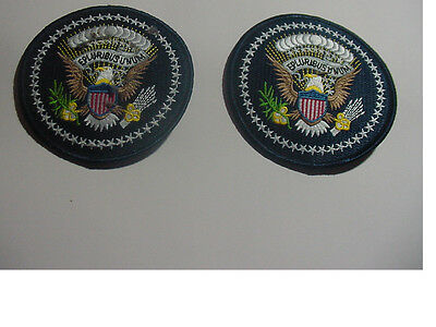 set of 2 New  Presidential seal patch