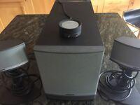 Bose Companion 5 Multimedia Speaker System. Excellent Condition