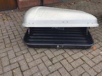 Farad roof box, used 3 times