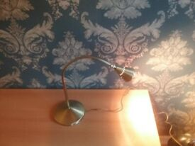 Brass Reading Lamp