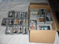 £185 worth of eaglemoss lead marvel figurines 95% in nr mint cond--xmen fantastic four