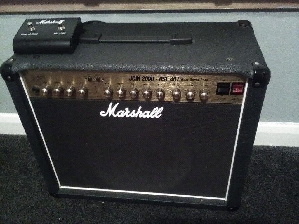 marshall jcm 2000 dsl 401 40 watt amp made in uk in southside glasgow gumtree. Black Bedroom Furniture Sets. Home Design Ideas