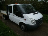 ford transit crew cab tipper 115BHP 6 speed gearbox cheap to clear look cheap 1 owner