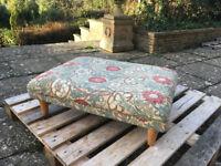 William Morris Design Footstool