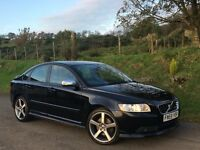 2009 VOLVO S40 2.0D R DESIGN DIESEL 82931 MILES 2 OWNERS FULL SERVICE HISTORY IMMACULATE CONDITION