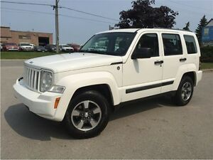 2008 Jeep Liberty SPORT! 4X4! ONE OWNER!
