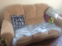 Sofa Bed with 2 matching armchairs