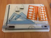 Rotring Rapid Technical Drawing Board A3 with extras