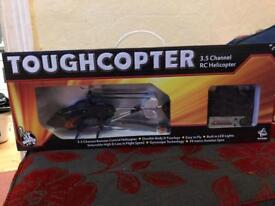Remote control helicopter used once