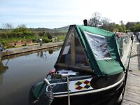 60' Narrowboat for sale on Monmouth & Brecon Canal nr Abergavenny £46,950