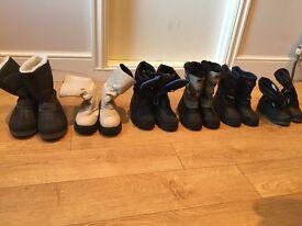 Ski boots, male, female, kids for sale