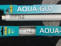 Hagen Aqua Glo T8 Fluorescent Aquarium Lamp Duo-Double Pack:2x20 Watt