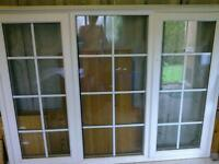 UPVC Veka Double-glazed window and sill unit