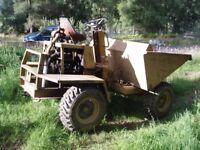 Dumper 4 wheel drive 2 Ton Stother and Pitt