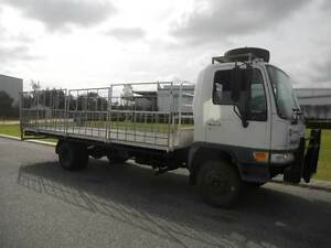 Hino 5 tonne traytop truck with gates. Welshpool Canning Area Preview