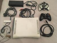 Xbox 360 in original box with extras