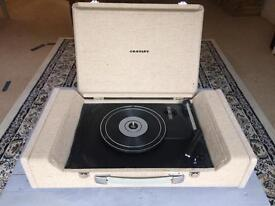 Crosley nomad record player