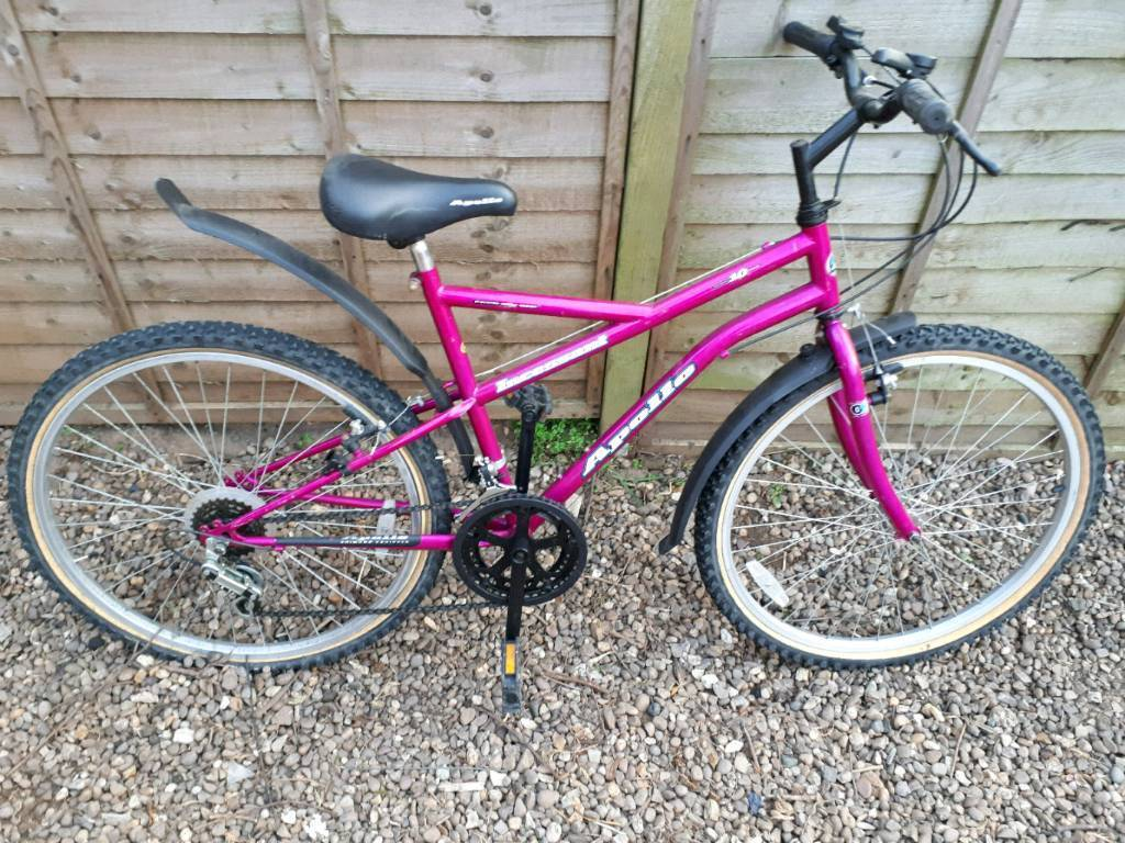 Apollo incessant mountain bike one of many quality bicycles for sale