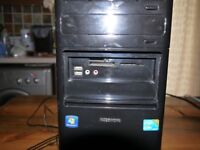 Medion Akoya p7220d Desktop PC, LG Monitor, keyboard and mouse