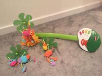 Fisher Price rainforest cot mobil
