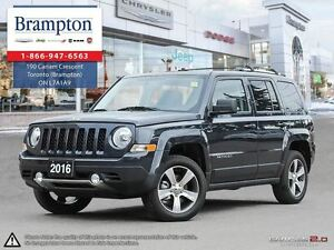 2016 Jeep Patriot High Altitude Company Demo|Leather|Sunroof|Nav