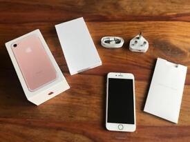 iPhone 7, 32gb, Rose Gold brand new unlocked