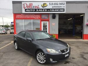 2008 Lexus IS 250 AWD V6+LEATHER+ROOF