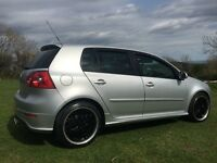 2007 Mk5 VW GOLF GT TDI with new turbo plus original set of alloys