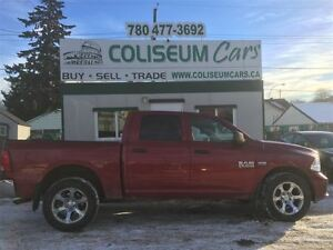 2015 Dodge Ram 1500 ST, 4X4, LEATHER, 74KM