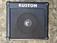 Speaker Kustom amplifier