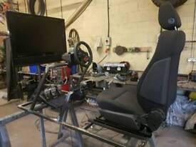 Racing setup and PS4