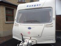 2008 Bailey Ranger series 5 460/4 caravan with lots of extras