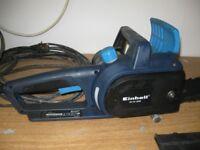 """Einhell 1800 w 400mm/16"""" electric chain saw"""
