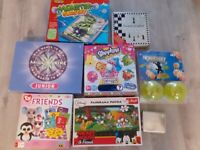 Board game and puzzle bundle