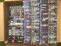 DOCTOR WHO DVD COLLECTION - NEAR COMPLETE