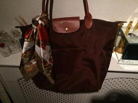 Genuine longchamp bag