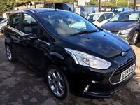 Ford B-Max 1.0 EcoBoost Titanium 5dr£7,945 p/x welcome 1 YEAR FREE WARRANTY. NEW MOT