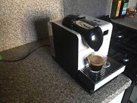 Nespresso coffee maker by De Longhi
