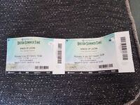 Kings of leon tickets hyde park x2